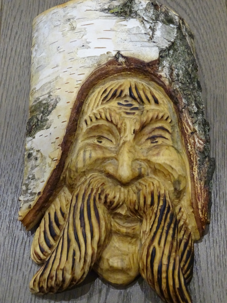 Once upon a time wall art decor wood carving unique